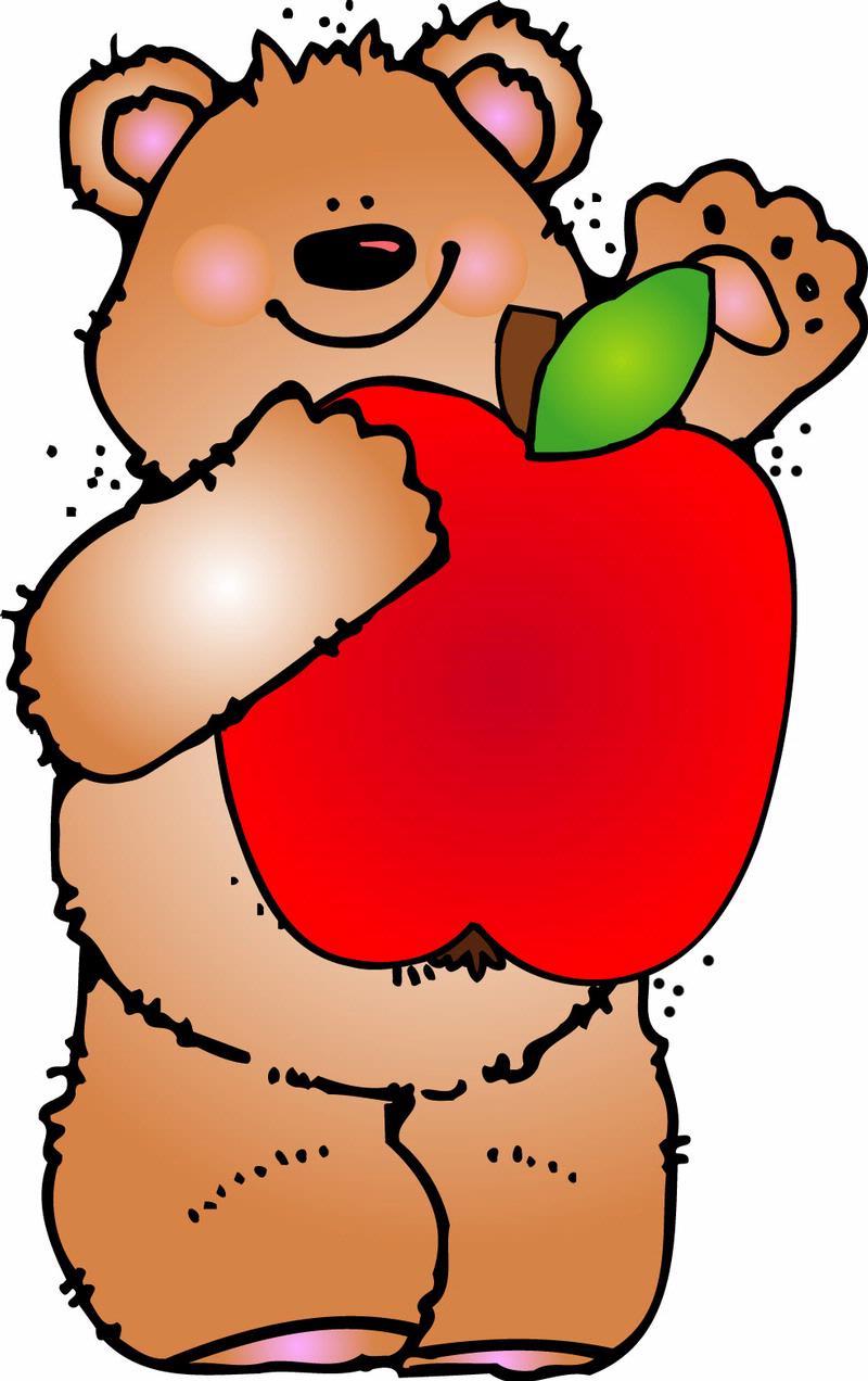 Apple clipart bear Elementary School About Goodman History