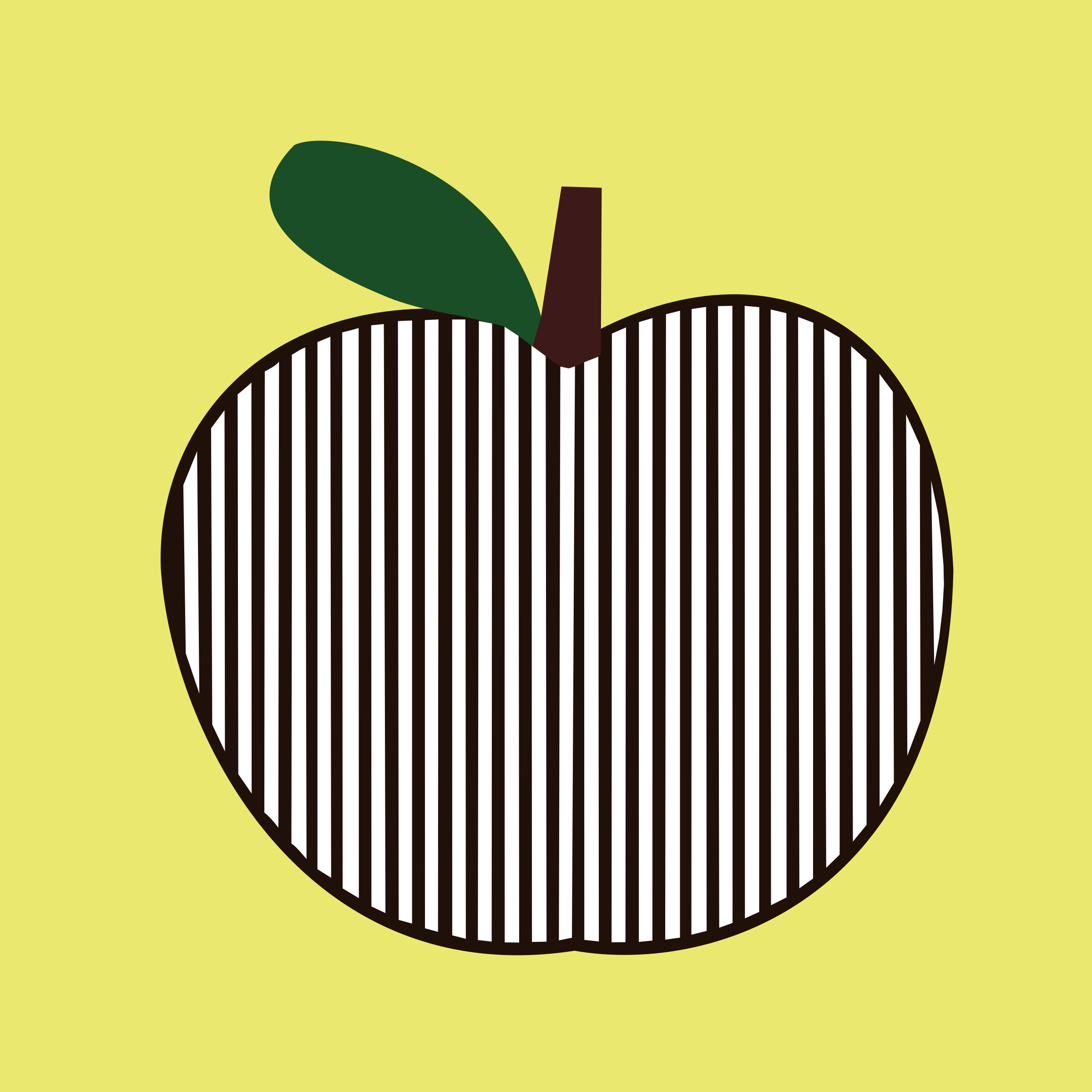 Apple clipart boy with BIG (PNG) striped apple IMAGE