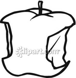 Apple clipart blackand white And collection white White Black