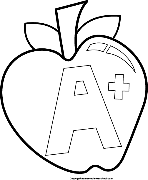 Apple clipart blackand white Clipart collection black apple Apple