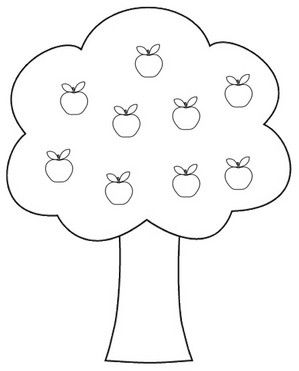 Apple clipart blackand white White 02 in Apple And