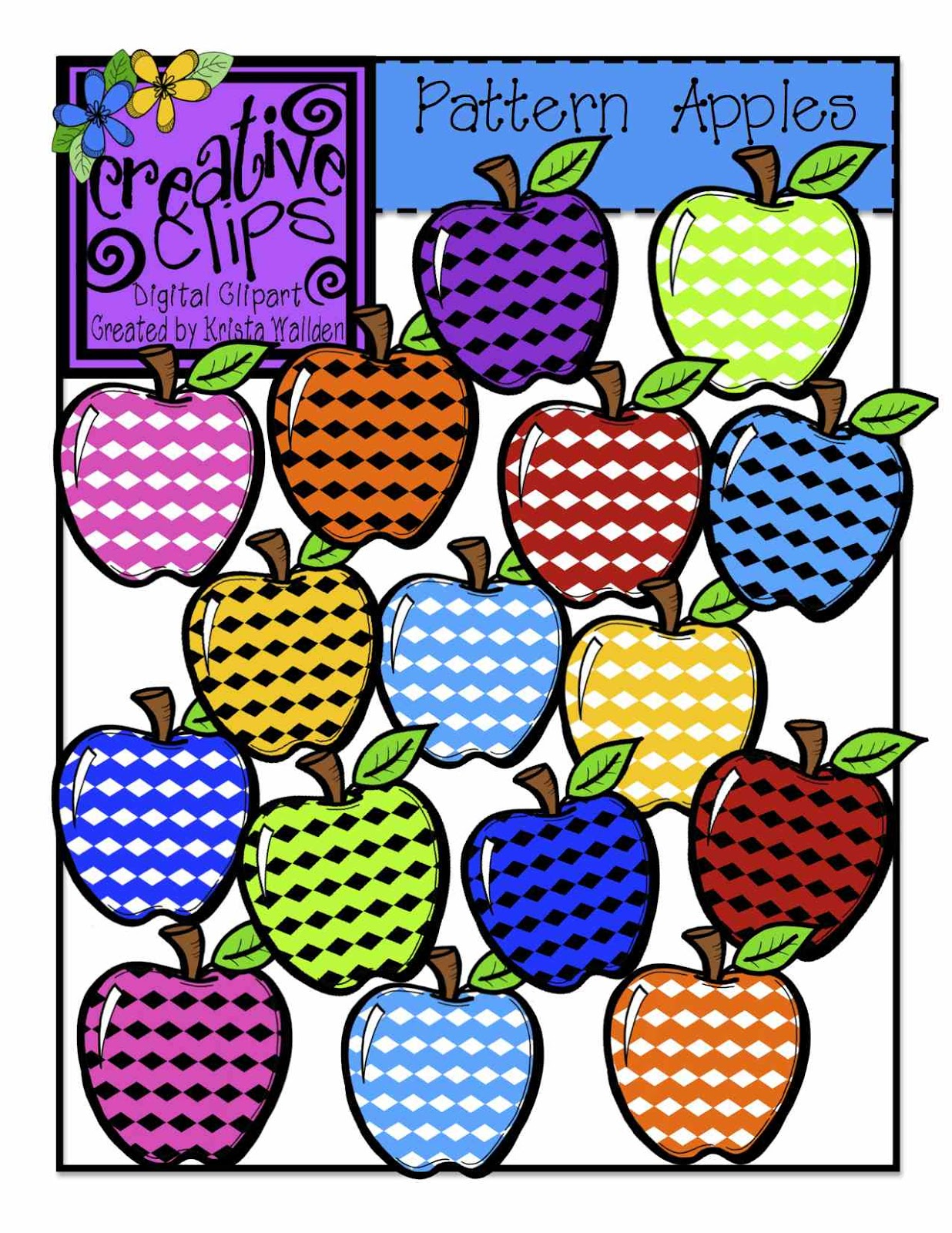 Apple clipart colorful Apples! Apples other Polka are