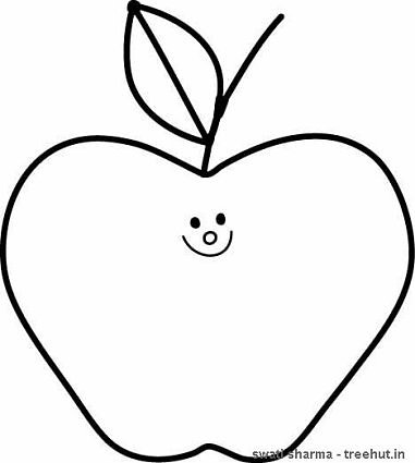 Apple clipart boy with Fruits pages kids apple for