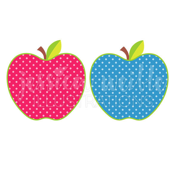 Apple clipart cute green Dot Like this Apple Clip