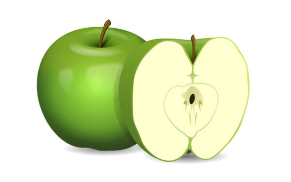 Apple clipart cute green Free Green com apple clipart