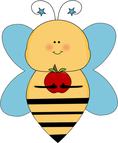 Bee clipart vector Collection Cute holding clipart fish