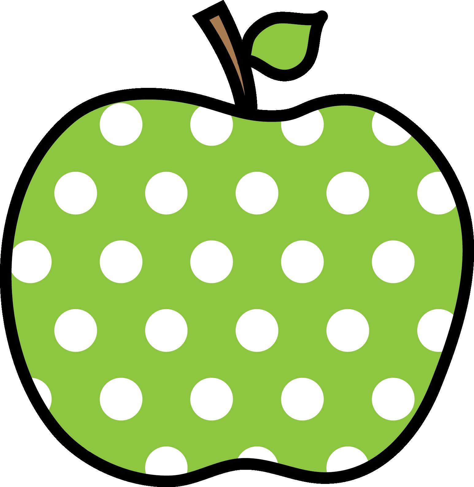 Dots clipart transparent apple ✿*UY clipart polka de dot