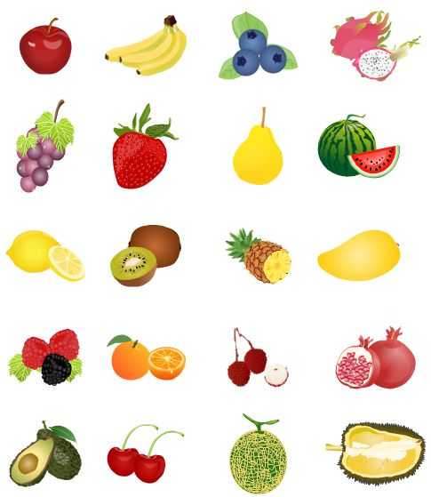 Grape clipart mango fruit Blueberry grape image banana clipart
