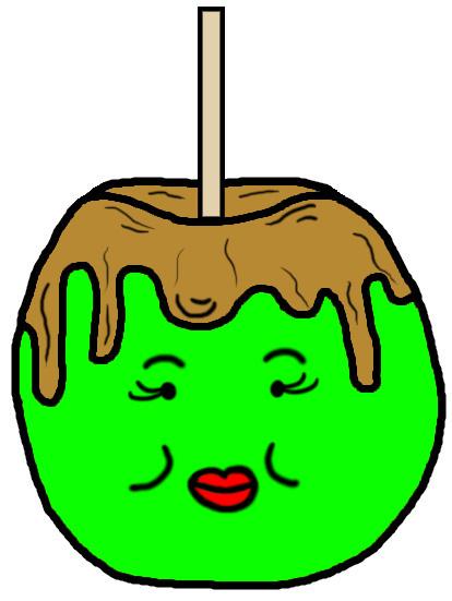 Apple clipart house Candy Apple House Apple Art