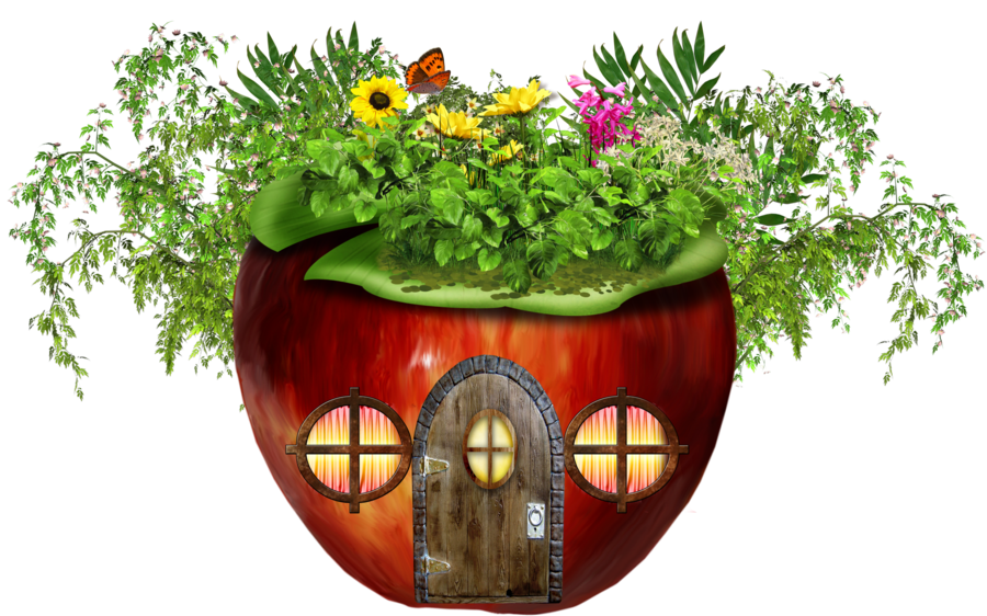 Apple clipart house DeviantArt PNG on by HOUSE