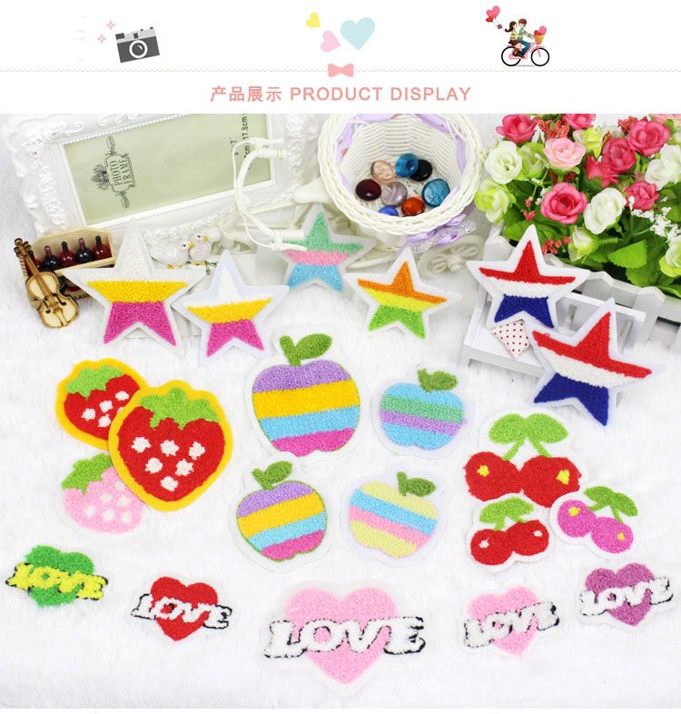 Apple clipart lot Embroidery apple China lots from