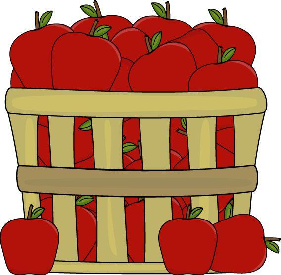 Apple clipart lot Theme images Apples Kindergarten pre