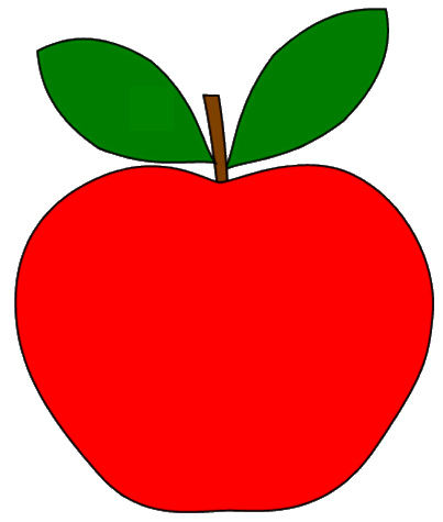 Clipart Clipart Apple leaf Panda