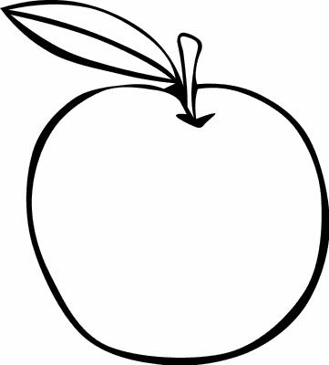 Apple clipart outline png /food/fruit/apple/apple_outline html png  outline