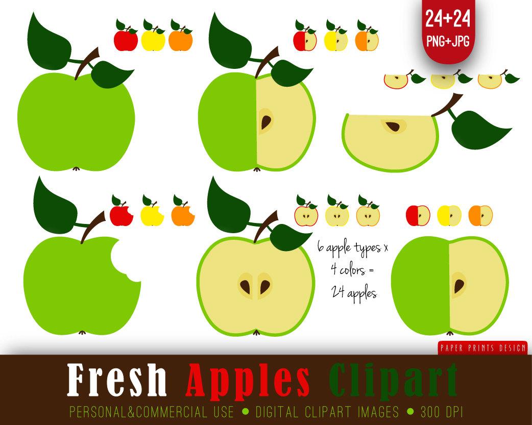 Apple clipart plaid – Clip Art Fresh Apples