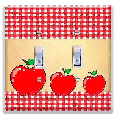 Apple clipart plaid Decor Apple Plate Kitchen Cover