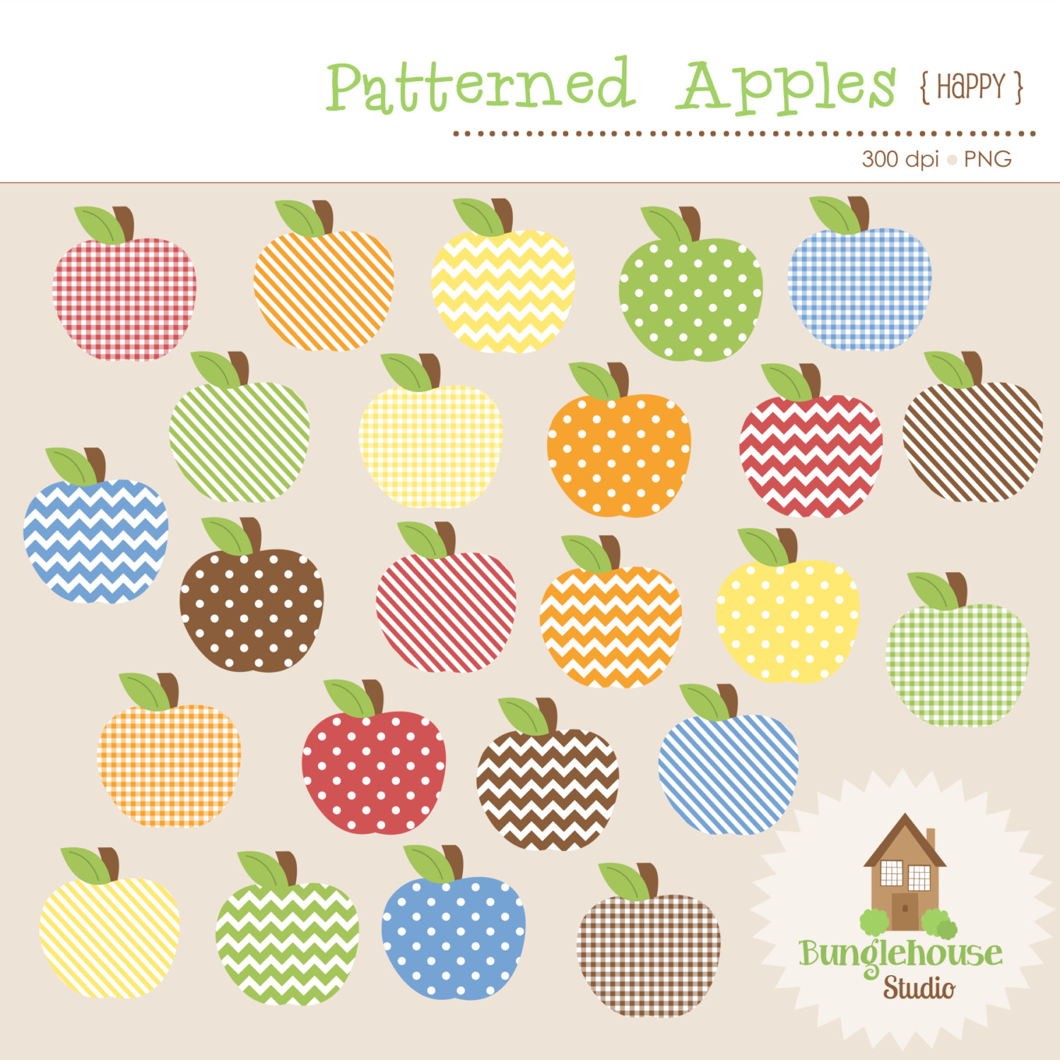 Colouful clipart apple #10