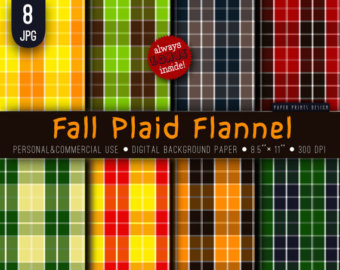 Apple clipart plaid Patterned 8 back Apple Flannel