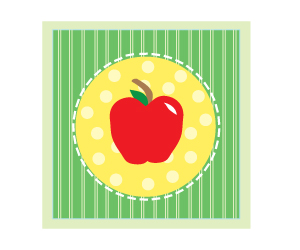 Apple clipart polka dot And projects Free  and