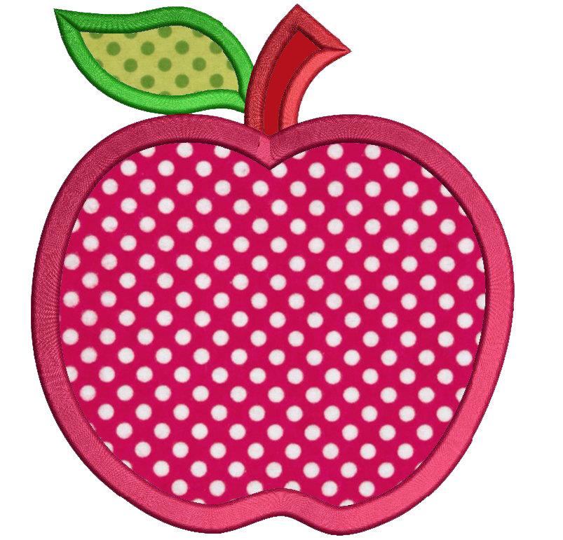 Apple clipart polka dot To Design a School Apple