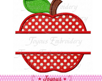 Apple clipart polka dot Patch NO:1766 Back Etsy Apple