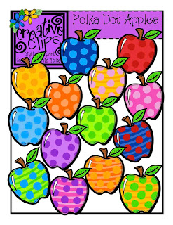 Apple clipart polka dot Them to to out! Click