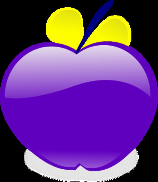 Apple clipart purple Art Clipart – Art Download