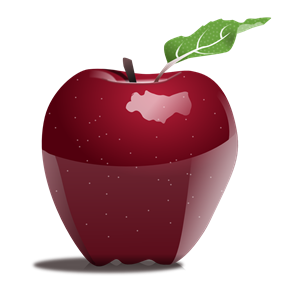 Apple clipart realistic Eps free Apple download svg