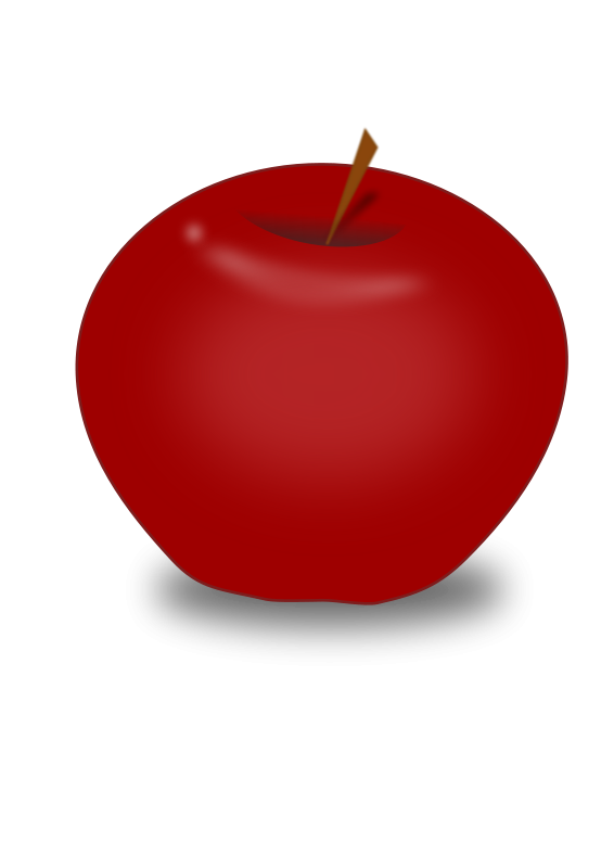 Apple clipart realistic Download Apple Art Apple Red