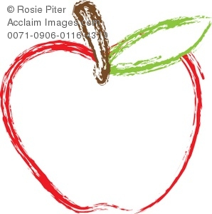 Apple clipart red apple Of Apple of Red Illustration