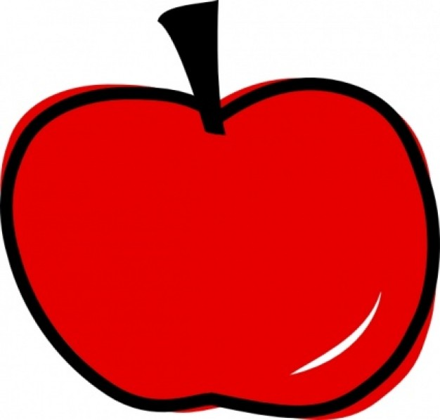 Apple clipart red apple Clipart ClipartBarn apple red apple