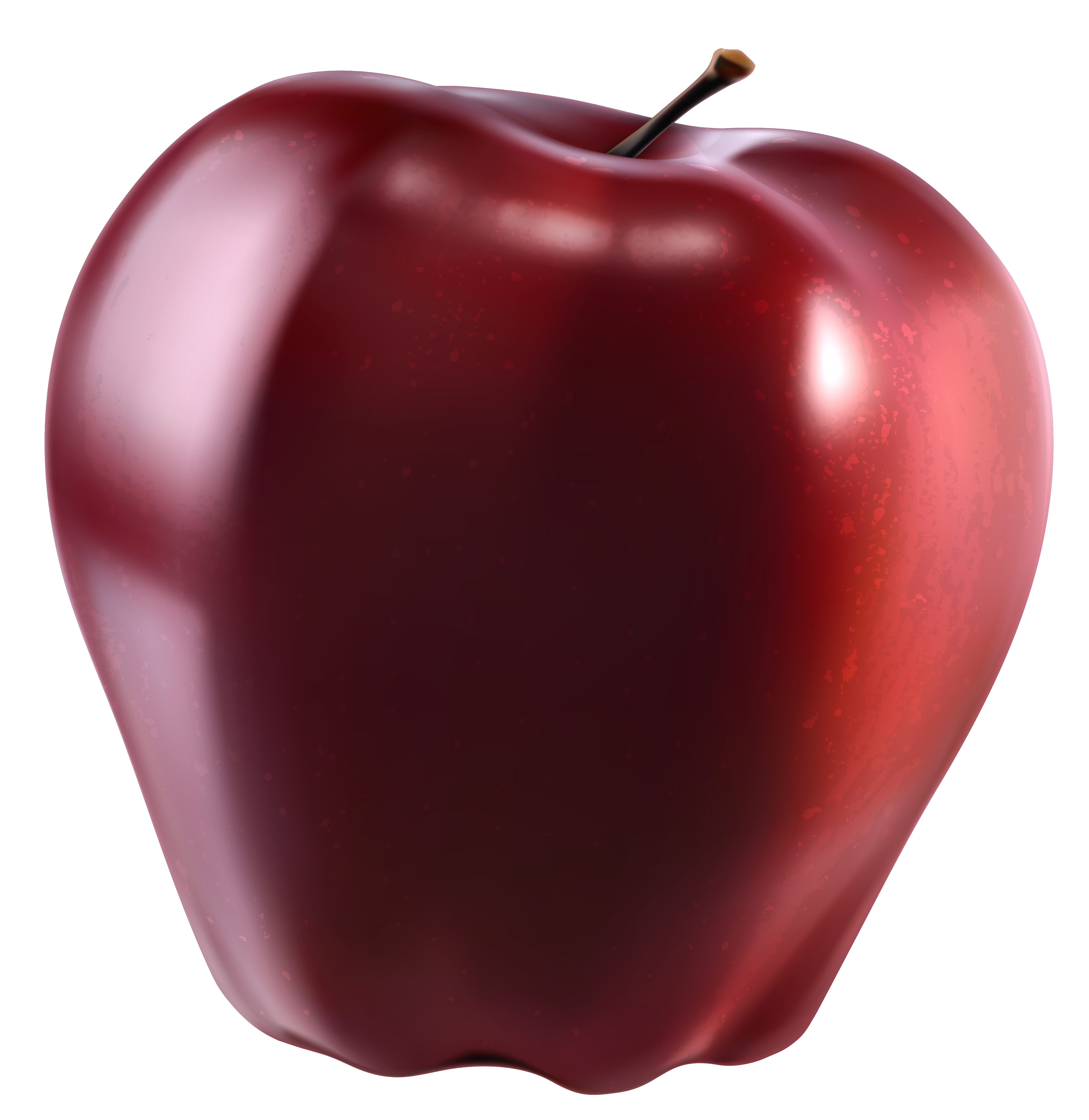 Apple clipart red apple Red Yopriceville  Gallery Picture