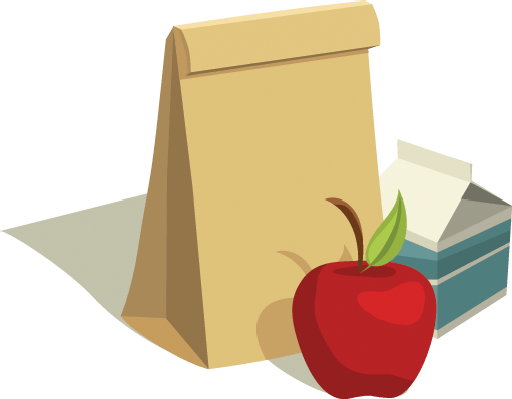 Apple clipart sack With Lunch with Apple Sack
