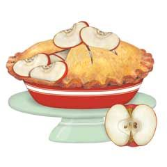 Pies clipart country apple Best Pie images pommes Pinterest