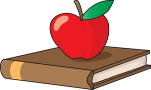 Bobook clipart apple School #1926 clipart image back