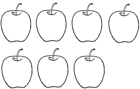 Apple clipart seven To the Learning 7? 7