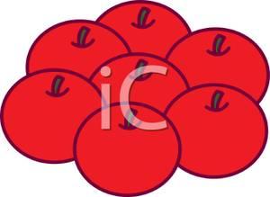 Apple clipart seven (60+) Seven Clipart red art