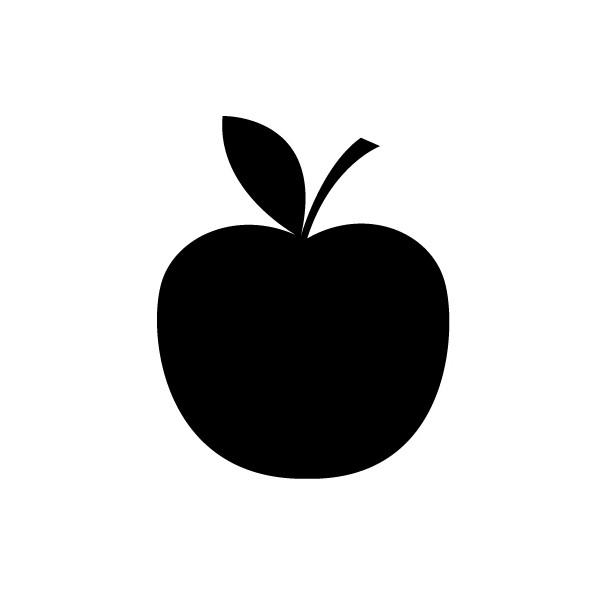 Apple clipart silhouette Fish FilesApples Clip appel Photos