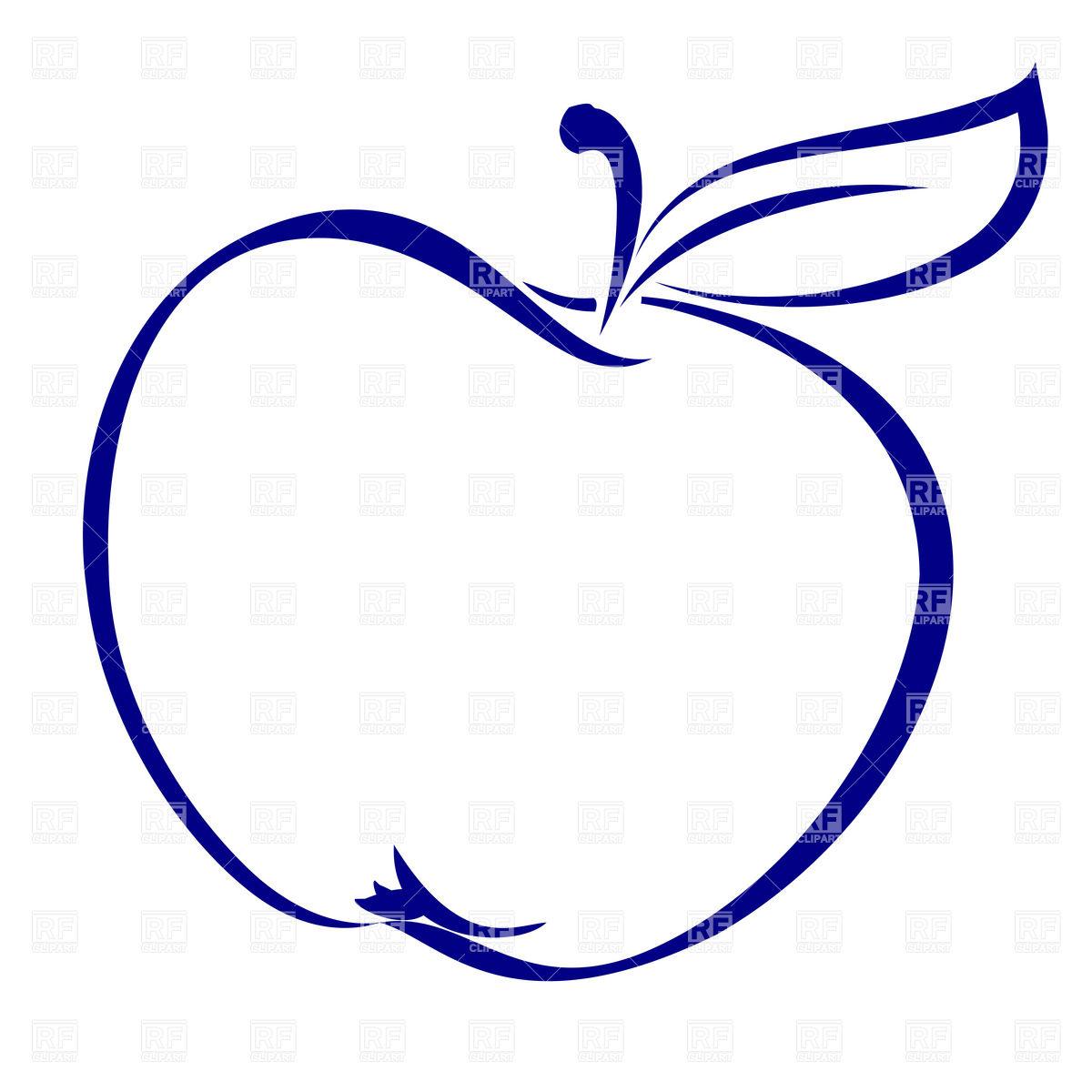 Apple clipart simple Art Art Apple simple download