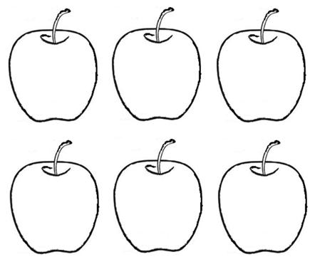 Apple clipart six The  Learning to to