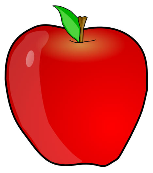 Apple clipart small apple · Clker Free · vector