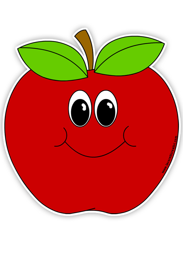 Apple clipart smiley Clipart apple 66 image cliparts