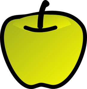 Apple clipart smiley Images Apple Green Free Clipart