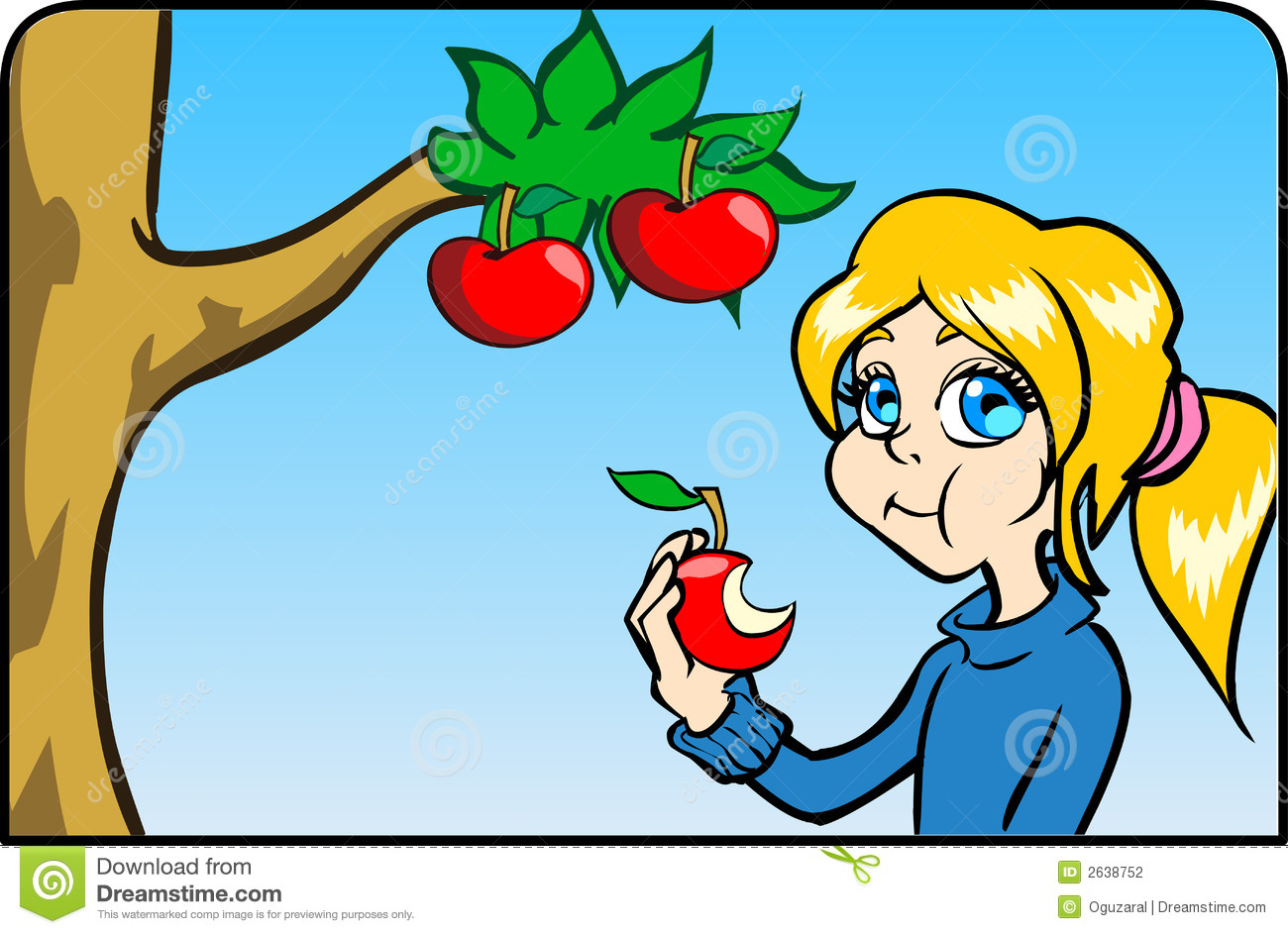 Apple clipart teal Clipart collections ClipartFest apple eating