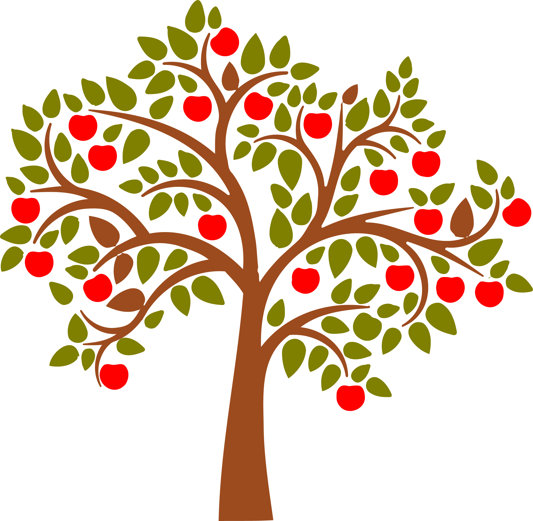 Beautiful clipart cute princess Tree Clipart Apple Apple apples