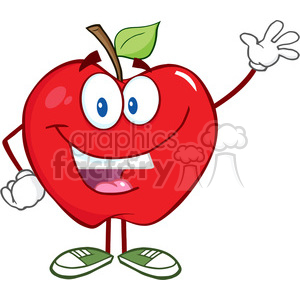 Apple Inc. clipart cartoon Free Royalty Smiling Art Royalty