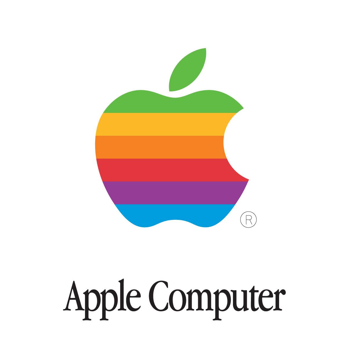 Apple Inc. clipart company logo Knobs Waverley Apple rainbow logo