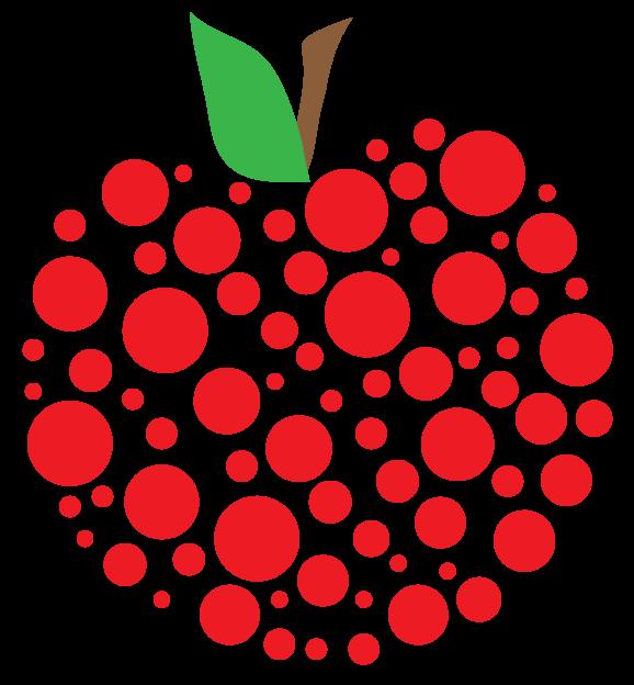 Dots clipart transparent apple Fancy clipart apple clipart apple