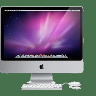 Apple Inc. clipart imac 20 Apple 2007 transparent IMac
