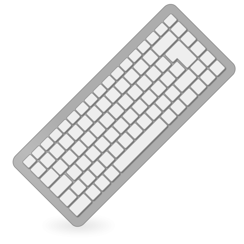 Mouse clipart computer keyboard #6